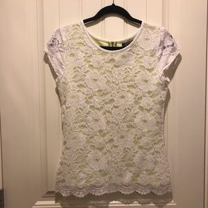 Excellent Kenneth Cole reaction cute white lace